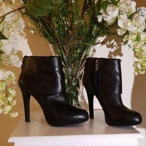 Jessica Simpson Deep Cuff Platform Ankle Boots